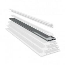 Панельный алюминиевый станочный профиль | PP 100