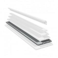 Панельный алюминиевый станочный профиль | PP 200