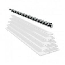 Панельный угловой алюминиевый профиль   PP 50 L
